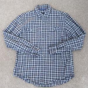 Apt 9 long sleeve button down plaid shirt